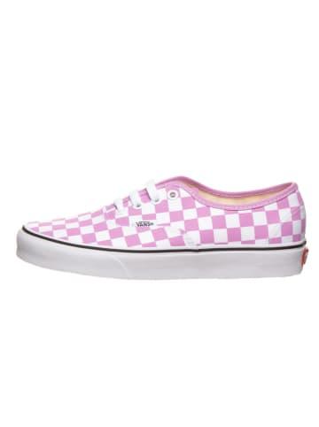 """Vans Sneakersy """"Authentic"""" w kolorze różowo-białym"""