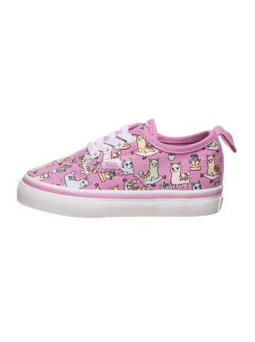 """Vans Sneakers """"Authentic"""" paars/meerkleurig"""