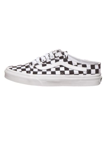 """Vans Sneakersy """"Old Skool Mule"""" w kolorze biało-czarnym"""