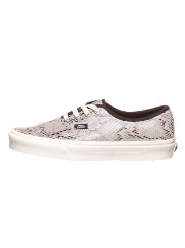 """Vans Leder-Sneakers """"Authentic"""" in Grau"""