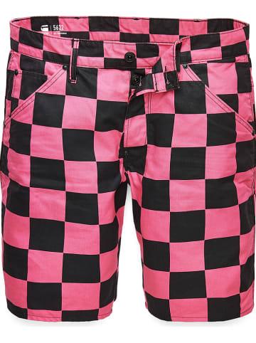 """G-Star Short """"5622 3D"""" roze/zwart"""