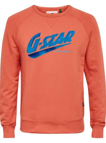 G-Star Sweatshirt oranje