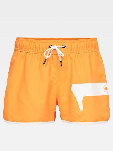"""G-Star Zwemshort """"Dend"""" oranje"""