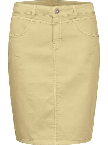 """Cream Spódnica """"Amalie"""" w kolorze żółtym"""