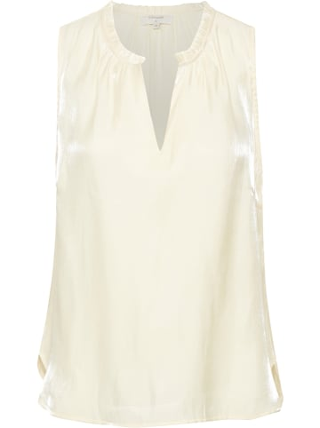 """Cream Top """"Cecilie"""" in Creme"""