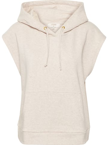 "Cream Sweatshirt ""Kalanie"" in Beige"