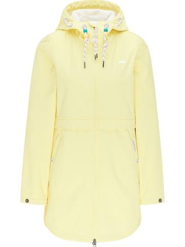 Schmuddelwedda Płaszcz softshellowy w kolorze jasnożółtym