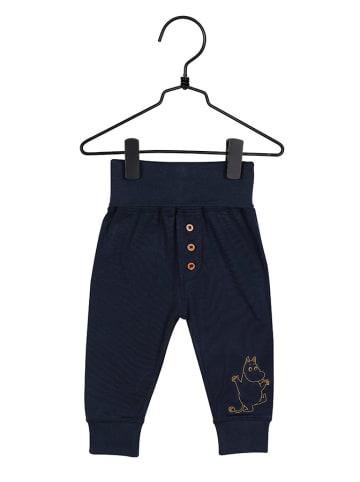 Moomin Spodnie w kolorze granatowym