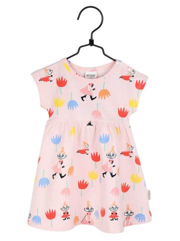 Moomin Sukienka w kolorze jasnoróżowym ze wzorem
