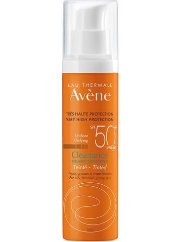 """Avène Gezichtszonnecrème """"Cleanance"""" - SPF 50+, 50 ml"""