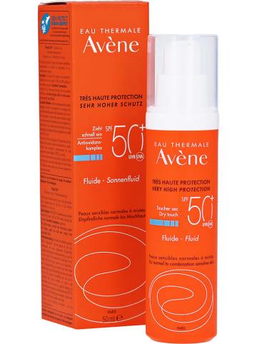 Avène Gezichtszonnevloeistof - SPF 50+, 50 ml