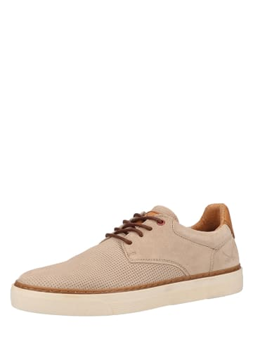 Sansibar Leren sneakers beige
