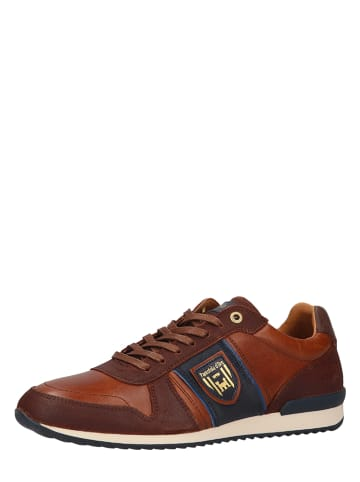 Pantofola D'Oro Skórzane sneakersy w kolorze brązowym