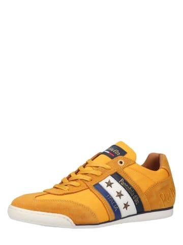 Pantofola D'Oro Leren sneakers geel