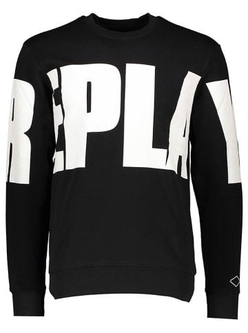Replay Sweatshirt zwart