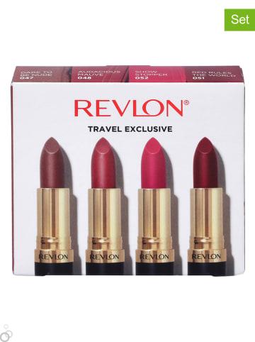 """Revlon 4-częściowy zestaw """"Super Lustrous Matte"""""""