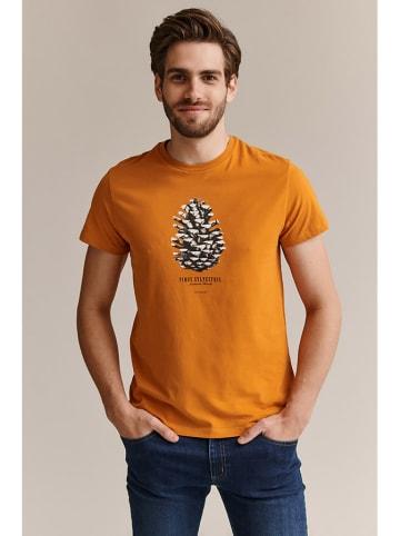 TATUUM T-shirt w kolorze pomarańczowym