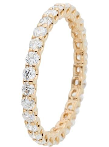 """DIAMANTA Gouden ring """"Mon Tour Complet"""" met diamanten"""