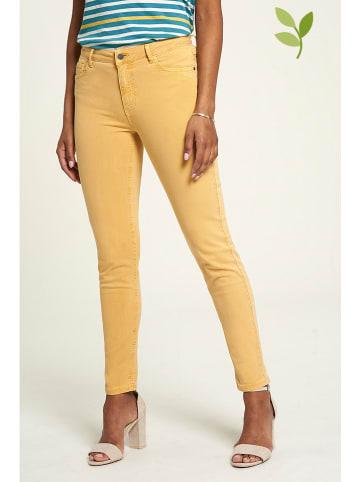 Tranquillo Spijkerbroek - slim fit - geel