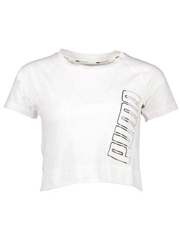 "Puma Trainingsshirt ""Logo"" wit"