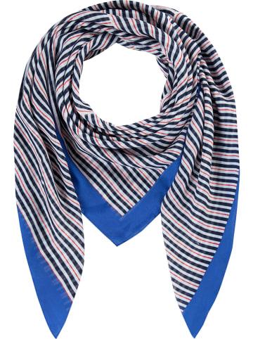 """Codello Sjaal """"By the Sea"""" blauw - (L)120 x (B)120 cm"""