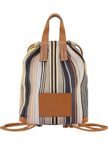 Codello Plecak w kolorze beżowo-brązowym - 32 x 42 x 17 cm