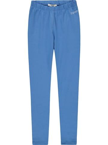 ESPRIT Legginsy w kolorze błękitnym