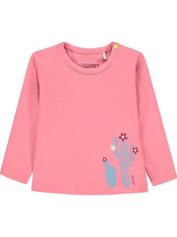 ESPRIT Koszulka w kolorze różowym