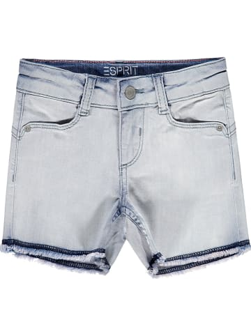 ESPRIT Szorty dżinsowe w kolorze błękitnym