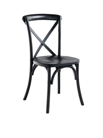 Novita Stoel zwart - (B)44,5 x (H)90 x (D)49,5 cm