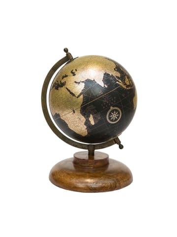 Novita Globus w kolorze czarno-złotym - (W)31 x Ø 24 cm