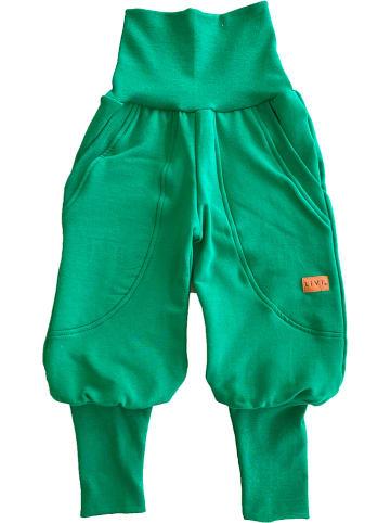 """LiVi Spodnie """"Streetjogger"""" w kolorze zielonym"""
