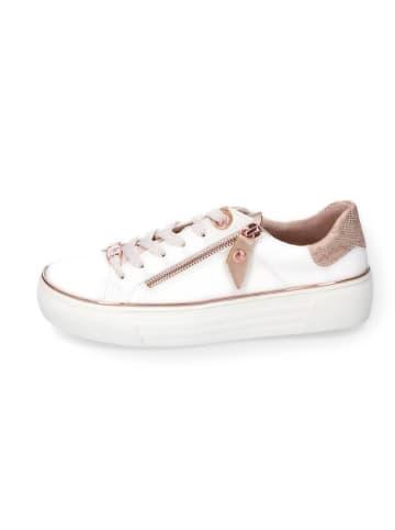 DOCKERS Sneakers in Weiß/ Rosa