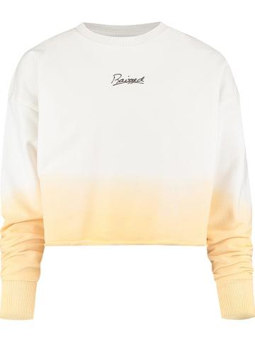 "RAIZZED® Sweatshirt ""Wyoming"" wit/geel"