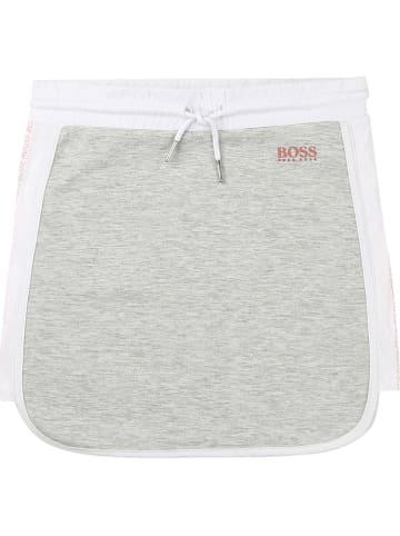 Hugo Boss Kids Spódnica w kolorze szarym