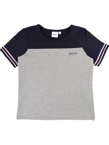 Hugo Boss Kids Shirt grijs