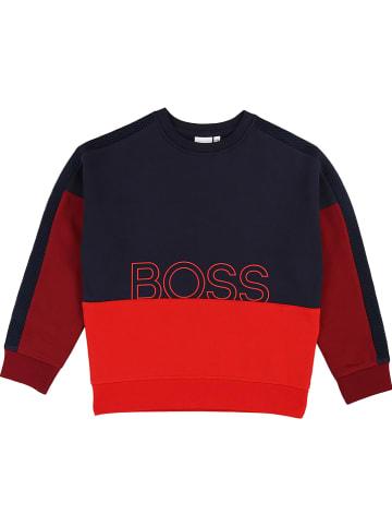 Hugo Boss Kids Bluza w kolorze granatowym