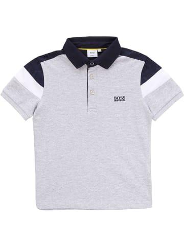 Hugo Boss Kids Poloshirt in Grau