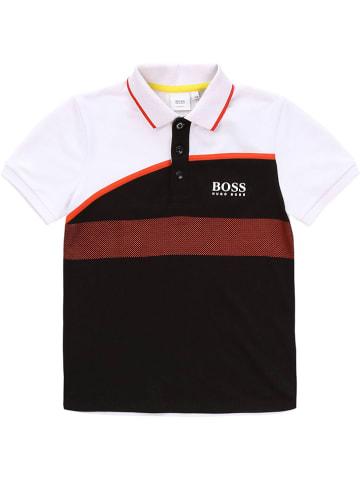 Hugo Boss Kids Poloshirt wit
