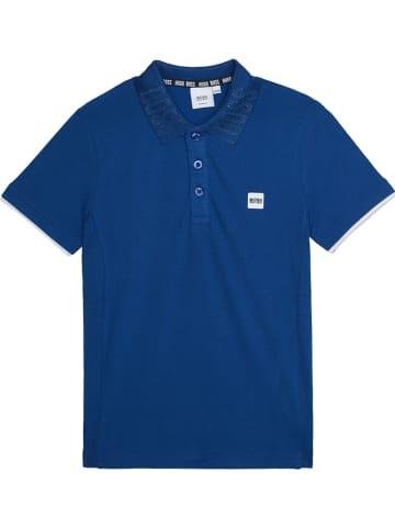 Hugo Boss Kids Poloshirt blauw
