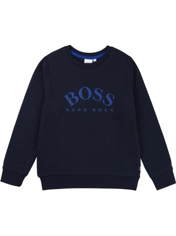 Hugo Boss Kids Sweatshirt in Dunkelblau