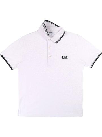 Hugo Boss Kids Poloshirt in Weiß