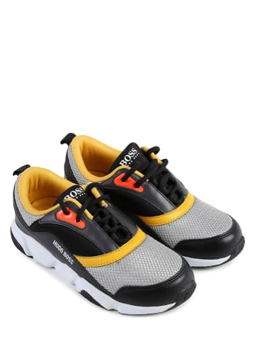 Hugo Boss Kids Sneakersy w kolorze szarym