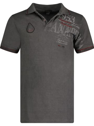 "ANAPURNA Poloshirt ""Kadventana"" zwart"