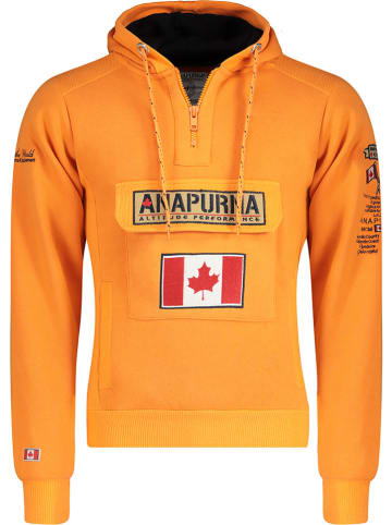 "ANAPURNA Sweatshirt ""Gymana"" oranje"