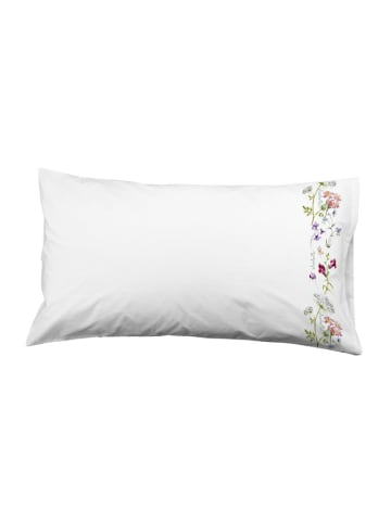 El Caballo Poszewka w kolorze białym ze wzorem na poduszkę