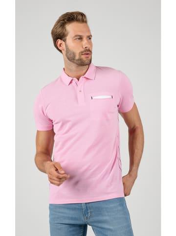 Felix Hardy Poloshirt lichtroze