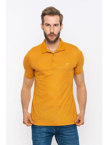 Felix Hardy Poloshirt in Gelb