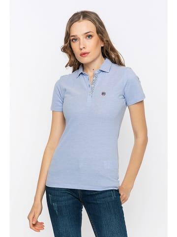 Felix Hardy Koszulka polo w kolorze błękitnym