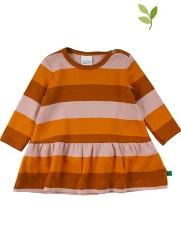 Fred´s World by GREEN COTTON Sukienka w kolorze pomarańczowym